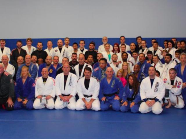 Adult Jiu-Jitsu class