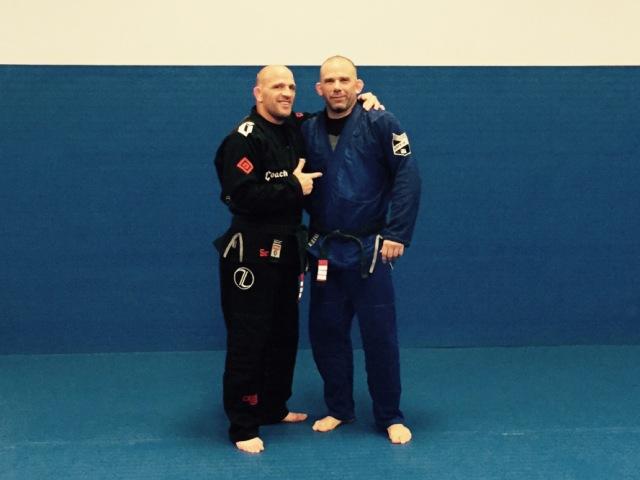 Travis Lutter and Paul Halme Blackbelt