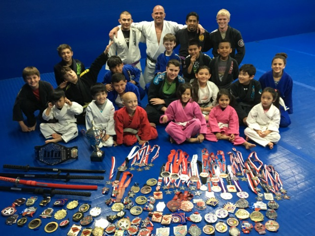 Kid's Jiu-Jitsu Competition Team