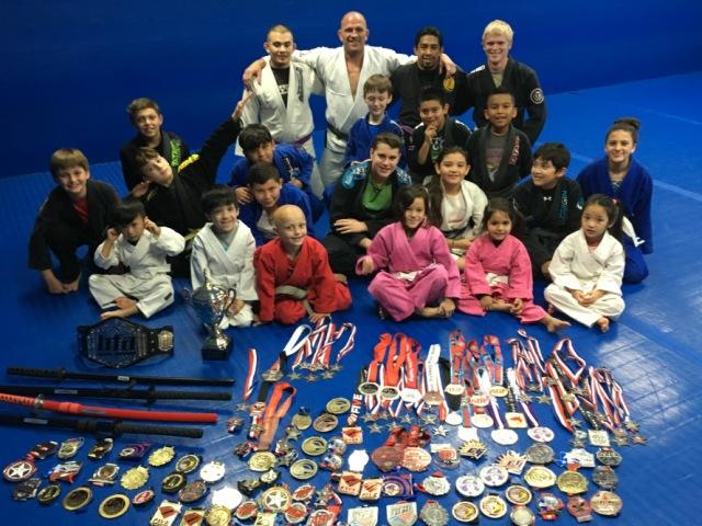 Kid's Jiu-Jitsu Competition Team